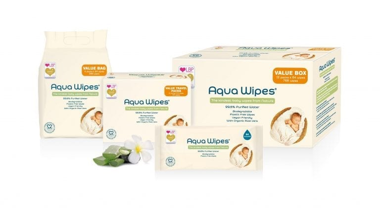 Aqua Wipes group product shot