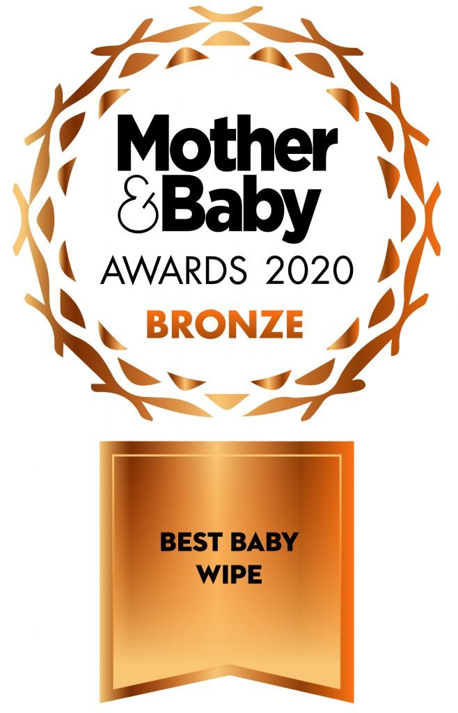 2020 Best Baby Wipe Bronze logo