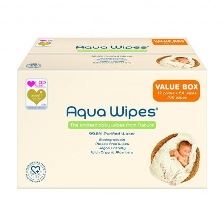 Aqua Wipe Carton Value Box