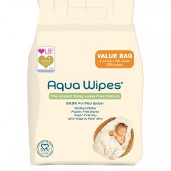 Aqua Wipes bag